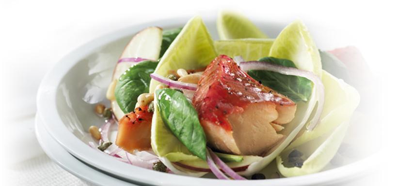 Salade de saumon aux endives