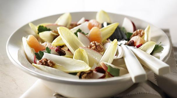 Endivesdiva les recettes divines salade d 39 hiver aux endives - Salade d hiver variete ...